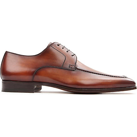MAGNANNI Apron Derby shoes (Tan