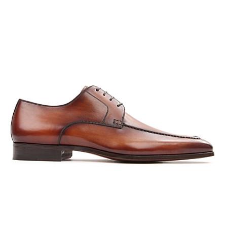 MAGNANNI Apron Derby shoes (Tan