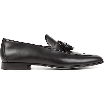 MAGNANNI Tasselled loafers (Black