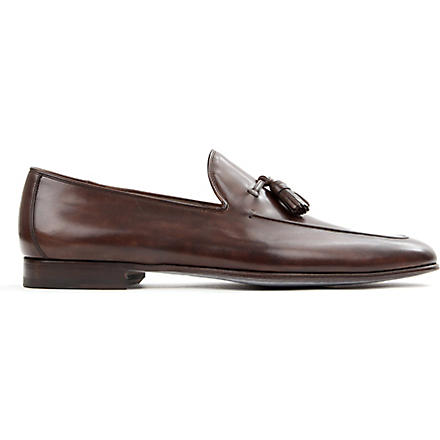 MAGNANNI Tasselled loafers (Brown