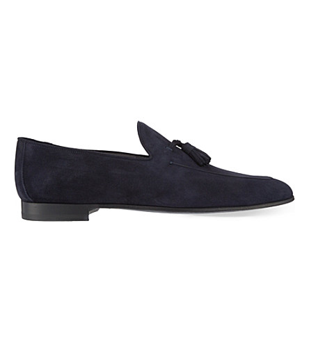 MAGNANNI Tassel loafers (Navy