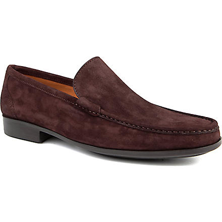MAGNANNI Suede slippers (Brown