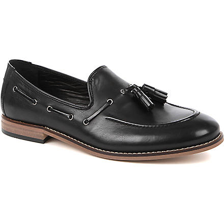 H BY HUDSON Tyska tassel loafers (Black