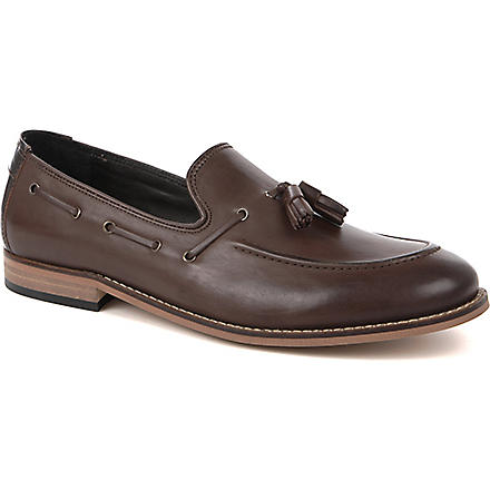 H BY HUDSON Tyska tassel loafers (Brown