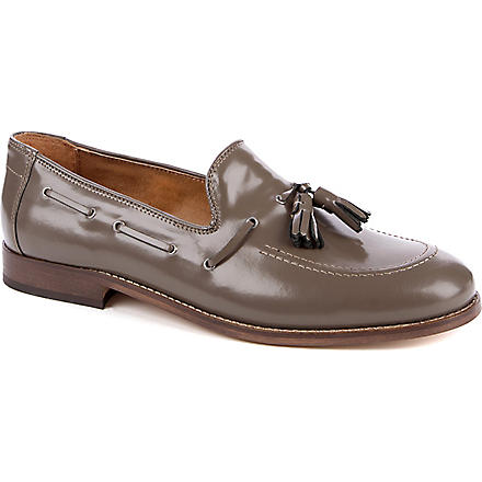 H BY HUDSON Tyska tassel loafers (Grey