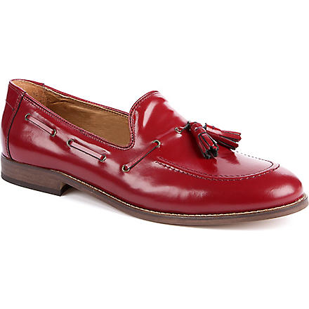 H BY HUDSON Tyska tassel loafers (Red
