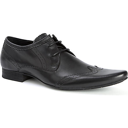 H BY HUDSON Ellington Derby shoes (Black