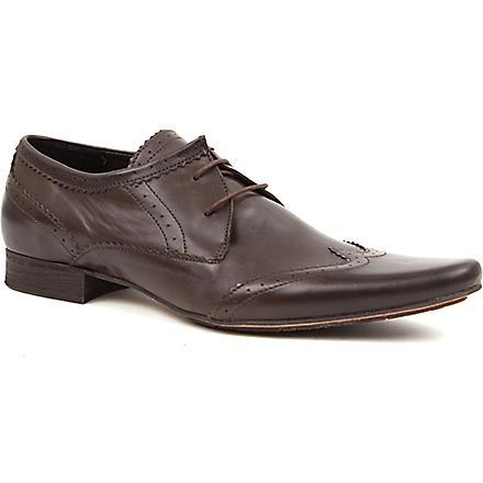 H BY HUDSON Ellington Derby shoes (Brown