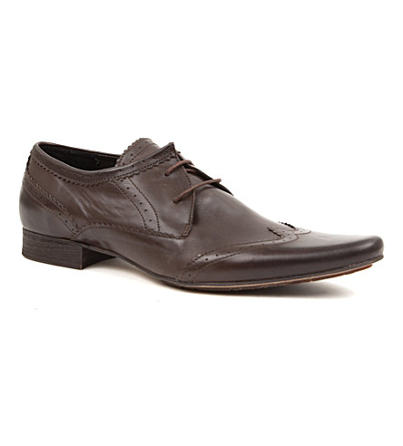 H BY HUDSON Ellington Derby shoes (Brown
