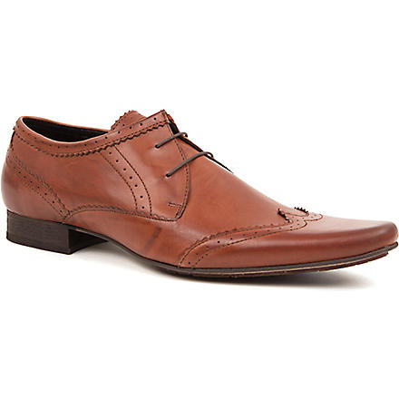 H BY HUDSON Ellington Derby shoes (Tan