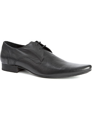 H BY HUDSON Louis perforated-upper shoes