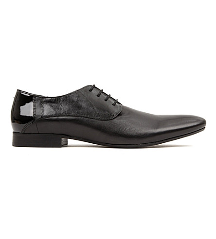 H BY HUDSON Richie Derby shoes (Black