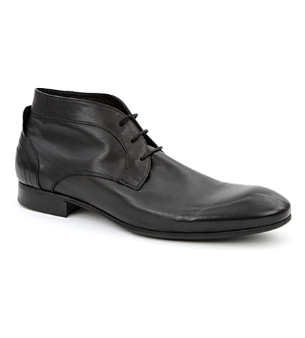 H BY HUDSON Thursom chukka boots (Black