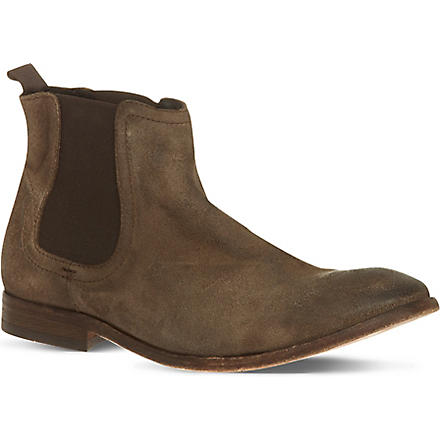H BY HUDSON Patterson chelsea boots (Taupe