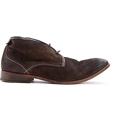H BY HUDSON Cruise suede boots (Brown