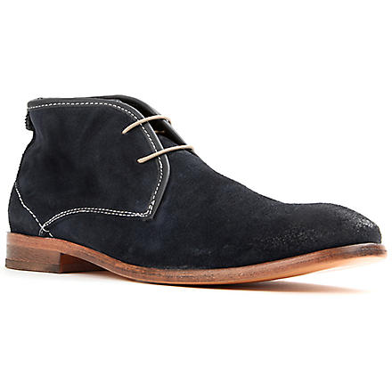 H BY HUDSON Cruise suede boots (Navy