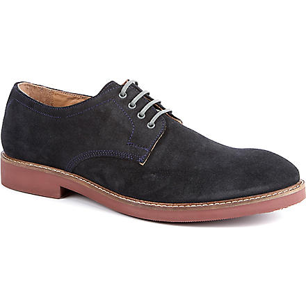 H BY HUDSON Marty Derby shoes (Navy