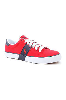 RALPH LAUREN Burwood canvas trainers