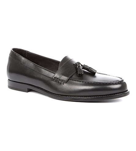 ROLANDO STURLINI Tassled loafers (Black
