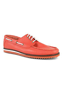 KG BY KURT GEIGER Prime leather boat shoes