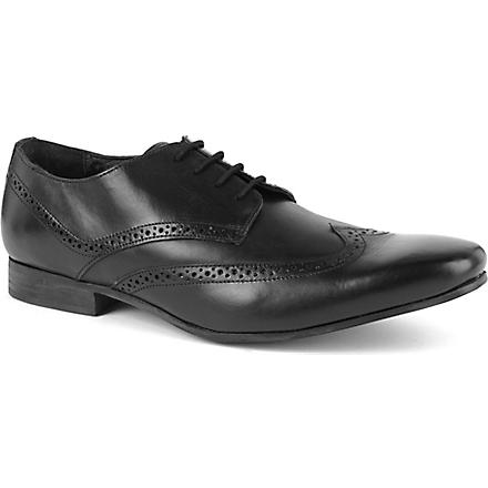 KG KURT GEIGER Kennedy leather Oxford brogues (Black