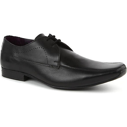 KG KURT GEIGER Dover leather Derby shoes (Black