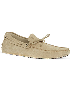 TODS Suede driving shoes