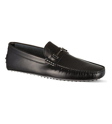 TODS Gommino Driving Shoes in Leather (Black
