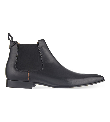 PAUL SMITH Falconer Chelsea boots (Black