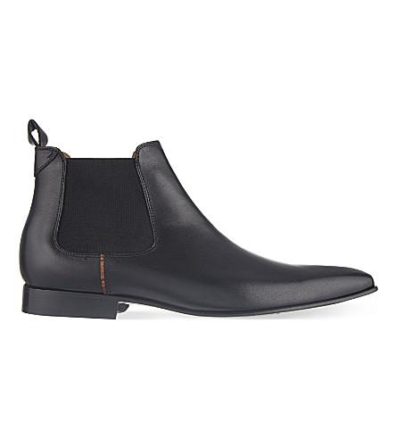 PAUL SMITH Falconer Chelsea boots (Black