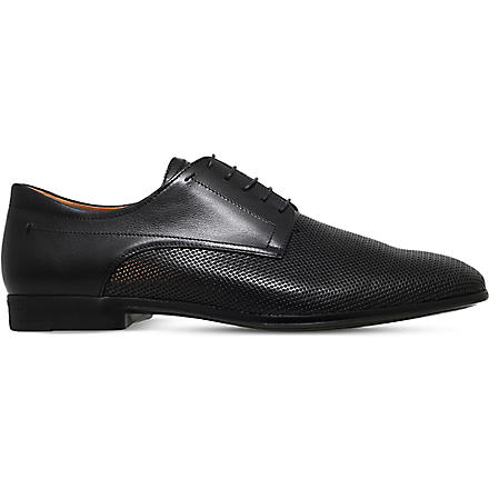 STEMAR Perforated Derby shoes (Black