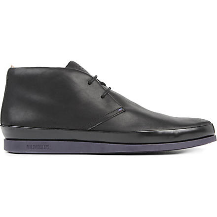 PAUL SMITH Loomis chukka boots (Black