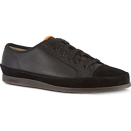PAUL SMITH Shore leather trainers (Black