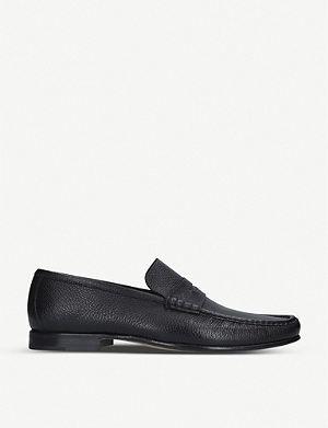 STEMAR Deerskin penny loafers