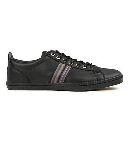 PAUL SMITH Osmo leather trainers (Black