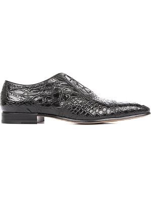 STEMAR Crocodile Oxford shoes
