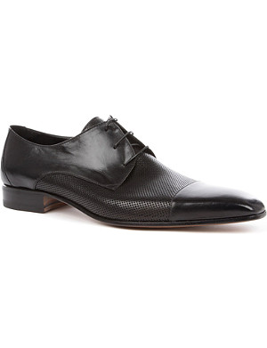 STEMAR Perforated toecap Derby shoes