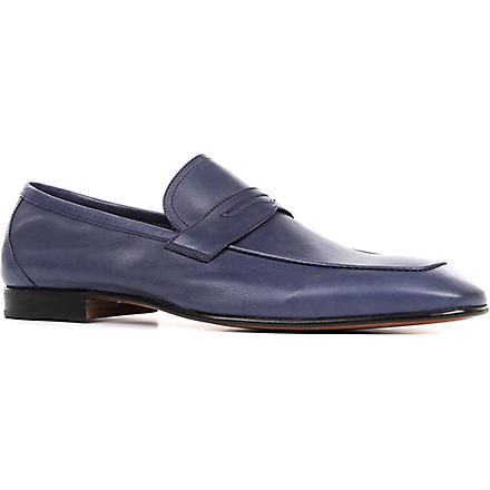 STEMAR Softy penny loafers (Navy