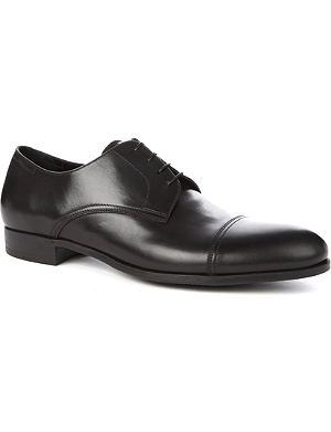 ERMENEGILDO ZEGNA Rubber-sole Derby shoes