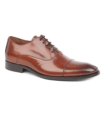 KURT GEIGER LONDON Harington Oxford shoes (Tan