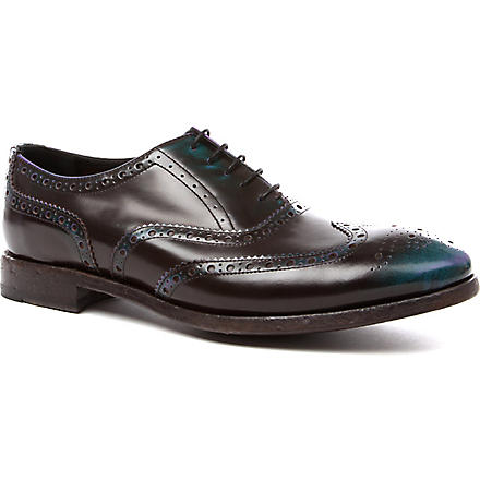 PAUL SMITH Chuck brogues (Petrol