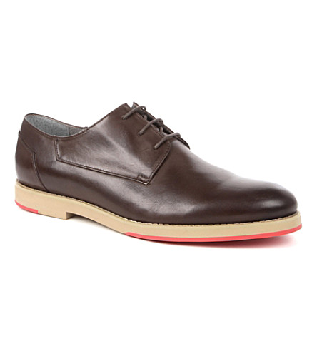 ANTHONY MILES Hearn Derby shoes (Brown