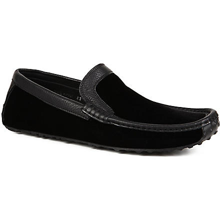 HARRYS OF LONDON Jet moc loafers (Black