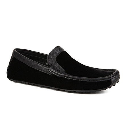 HARRYS OF LONDON Jet moc loafers (Black