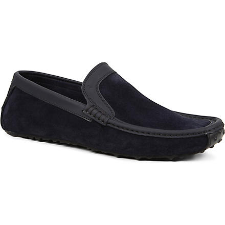 HARRYS OF LONDON Jet moc loafers (Navy