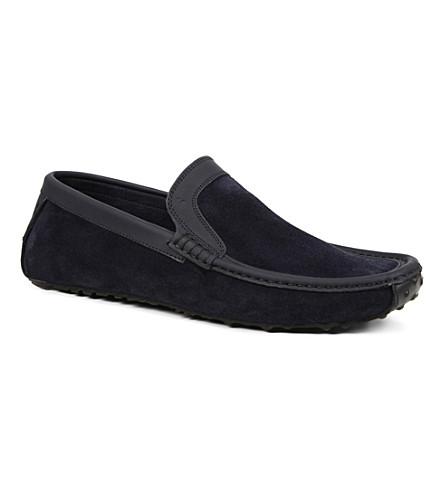 HARRYS OF LONDON Jet moc loafers (Navy