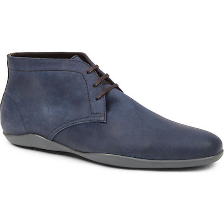 HARRYS OF LONDON Dwain 2 suede Chukka boots (Blue
