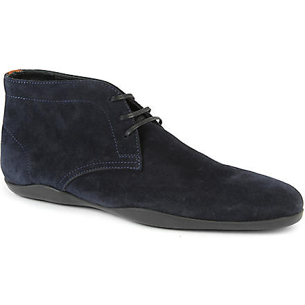 HARRYS OF LONDON Dwain 2 suede Chukka boots (Navy