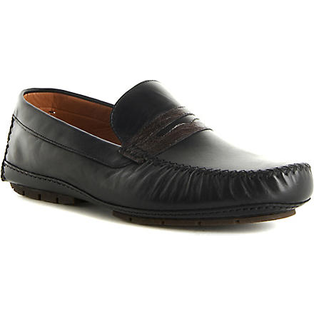 STEMAR Sergiono loafers (Blk/brown