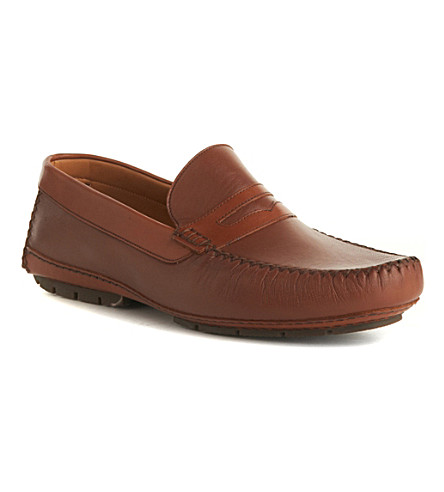 STEMAR Sergiono loafers (Dark+brown